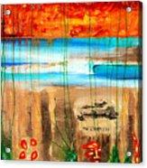 Believe A Faint Memory Incomplete Places Acrylic Print