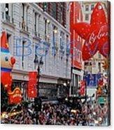 Believe Macys  Parade Acrylic Print