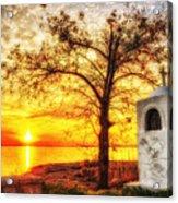 Believers Sunset Acrylic Print