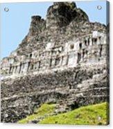 Belize Mayan Ruins  Acrylic Print