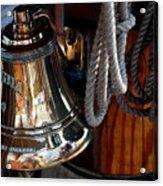 Bell On Schooner Virginia Acrylic Print