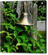 Bell On The Garden Gate  Acrylic Print