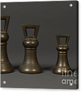 Bell Shaped Avoirdupois Weights Acrylic Print