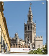 Bell Tower - Cathedral Of Seville - Seville Spain Acrylic Print