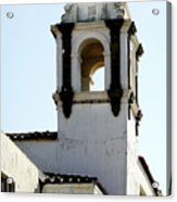 Bell Tower In Santa Cruz Acrylic Print