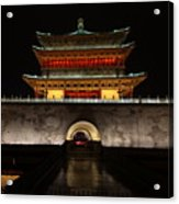 Bell Tower Of Xi'an Acrylic Print