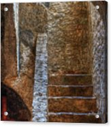 Bell Tower Stairs Acrylic Print