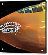 Bell X-1  Glamorous Glennis Acrylic Print