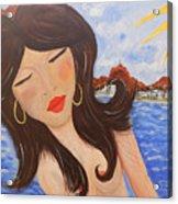 Bella En Rio Acrylic Print