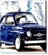 Bella Macchina 8 - Fiat 500 F Acrylic Print