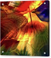 Bellagio Ceiling Sculpture Abstract Acrylic Print