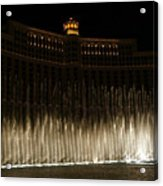 Bellagio Fountains Acrylic Print