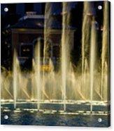 Bellagio Light Show - Lasvegas Acrylic Print