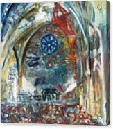 BellaPais Church Acrylic Print