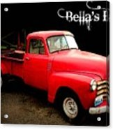 Bella's Ride Acrylic Print