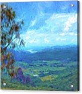 Bellbird Outlook Acrylic Print