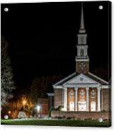 Belle Meadows Baptist Church Acrylic Print