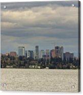 Bellevue Skyline Along Lake Washington Acrylic Print