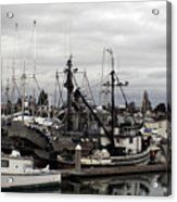 Bellingham Bay Ship Yard Acrylic Print