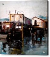 Bellingham Boats Acrylic Print