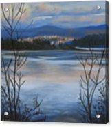 Bellingham In Winter Acrylic Print