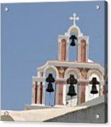 Bells Of Santorini Acrylic Print