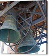 Bells Of Torre Dei Lamberti - Verona Italy Acrylic Print