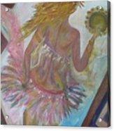 Belly Dancer Flashdance Acrylic Print
