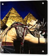 Bellydance Of The Pyramids - Rachel Brice Acrylic Print