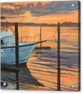 Belmar Sunset II Acrylic Print