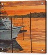 Belmar Sunset Acrylic Print