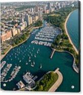 Belmont Harbor Chicago Acrylic Print