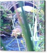 Below The Bridge Acrylic Print