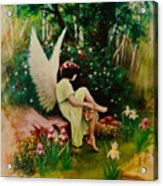Beltaine Angel Acrylic Print