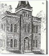 Belton Jail Acrylic Print
