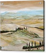 Belvedere - Tuscany Acrylic Print