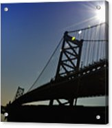 Ben Franklin Bridge 2 Acrylic Print