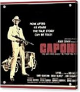 Ben Gazarra British 4 Sheet Theatrical Poster Capone 1975 Color Added 2016 Acrylic Print