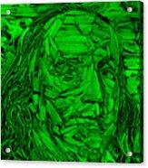 Ben In Wood Green Acrylic Print