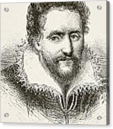 Ben Jonson 1572 To 1637. English Acrylic Print