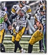 Ben Roethlisberger Pittsburgh Steelers Art Acrylic Print