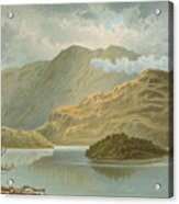 Ben Venue And Ellen's Isle   Loch Katrine Acrylic Print