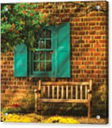 Bench - Please Have A Seat Acrylic Print