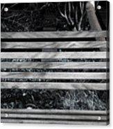Bench Theory Acrylic Print