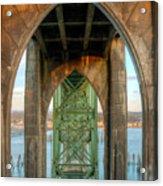 Beneath The Bridge Acrylic Print