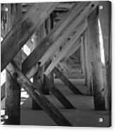Beneath The Docks Day Acrylic Print