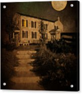 Beneath The Perigree Moon Acrylic Print