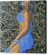 Benita As A Dancing Star Acrylic Print