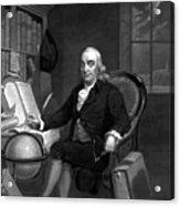 Benjamin Franklin -- The Scientist Acrylic Print
