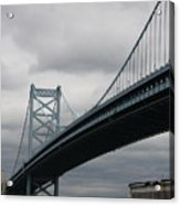 Benjamin Franklin Bridge Philadelphia Acrylic Print